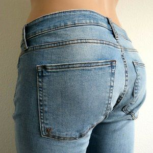 KUT from the KLOTH Jeans RIPPED Cigarette Leg NWT